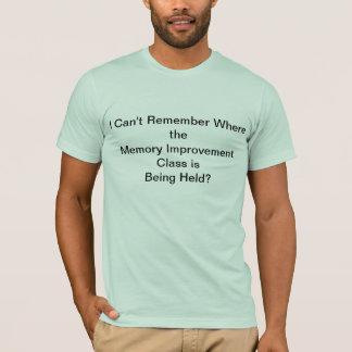 Gedächtnis-Verbesserungs-T - Shirt