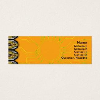 Gedrehte Alternative der Quallen-WGB Gitter Mini Visitenkarte
