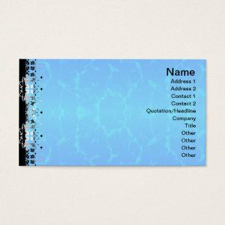 Gedrehte Alternative der Quallen-WGB Gitter Visitenkarten