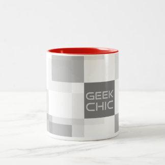 Geek chic house zweifarbige tasse