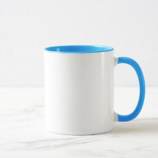 Geek-Frühstücks-blaue Ring-Tasse Tasse
