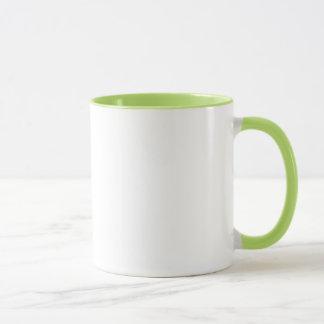 Geek-Frühstücks-Grün-Ring-Tasse Tasse