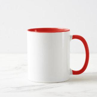 Geek-Frühstücks-rote Ring-Tasse Tasse