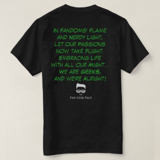 Geek-Laternen-T - Shirt