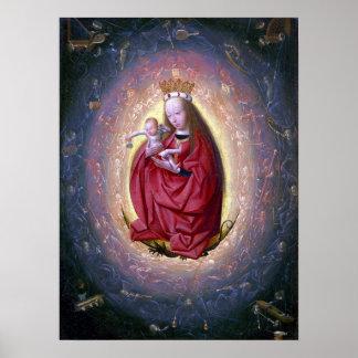 Geertgen Tot Sint Jans die Verherrlichung der Poster