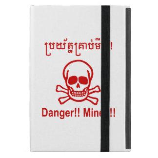 Gefahr!! Bergwerke!! ☠ kambodschanisches iPad Mini Schutzhülle