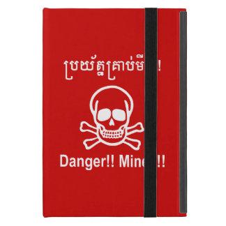 Gefahr!! Bergwerke!! ☠ kambodschanisches Schutzhülle Fürs iPad Mini