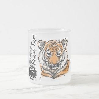 Gefährdete | bengalische Tasse 2 Tiger-|