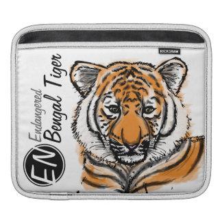 Gefährdete   bengalische Tiger   iPad Hülse Sleeves Für iPads