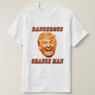 Gefährlicher orange Mann Donald- TrumpShirt-| T-Shirt