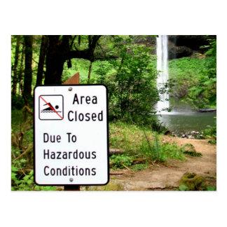 Gefährliches Paradies Postkarte
