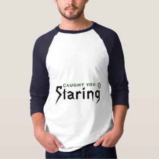 Gefangen starrend Ihnen, an, T-Shirt