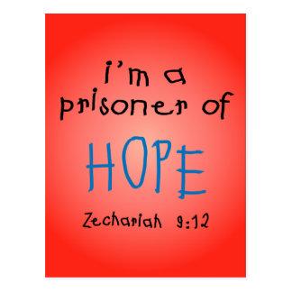 Gefangener der Hoffnung Postkarte