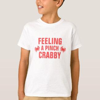 Gefühl ein die Klemme Crabby T-Shirt