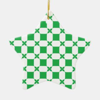 Gefühl glücklich heute? keramik Stern-Ornament