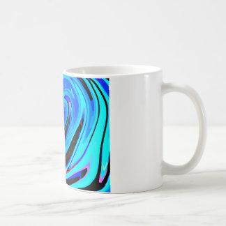 """Gefühls-blaue"" abstrakte Entwurfs-Tasse Tasse"