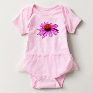 Gefühls-gute Blume Baby Strampler
