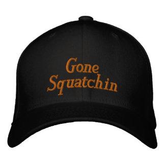 Gegangener Squatchin angepasster gestickter Hut Baseballmütze