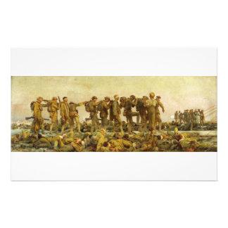 Gegast durch John Singer Sargent-Ersten Weltkrieg Briefpapier