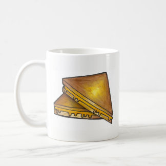 Gegrillte geröstete kaffeetasse