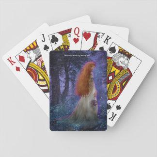 Geheimnis-Dame Spielkarten