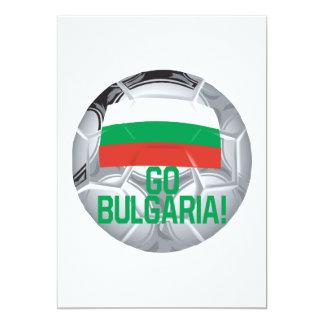 Gehen Bulgarien 12,7 X 17,8 Cm Einladungskarte