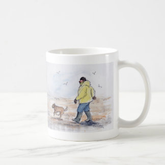 Gehen der Hund - 01 Tasse