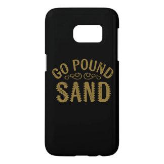 Gehen Pfund-Sand
