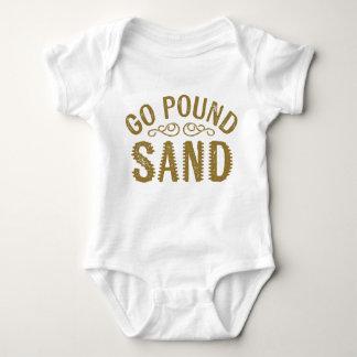 Gehen Pfund-Sand Babybody