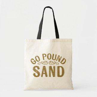 Gehen Pfund-Sand Budget Stoffbeutel