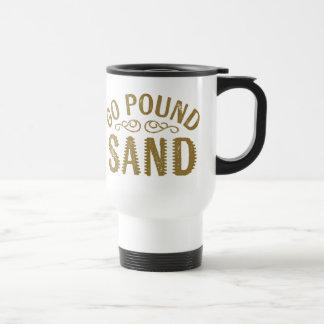 Gehen Pfund-Sand Edelstahl Thermotasse