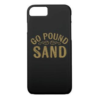 Gehen Pfund-Sand iPhone 7 Hülle