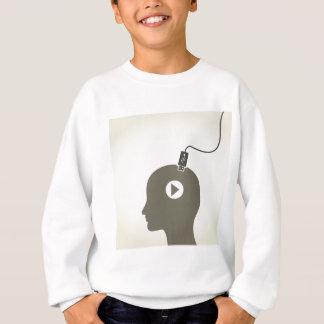 Gehen Sie den Computer voran Sweatshirt