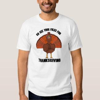 Gehen Sie sehen Ihre Völker für Danksagung Hemden
