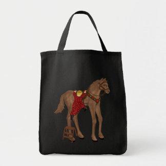 """""""gehen Sie von Ihrem hohen Pferd """" weg Einkaufstasche"""