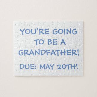 """""""Gehend, ein Großvater zu sein!"""" Puzzlespiel Puzzle"""