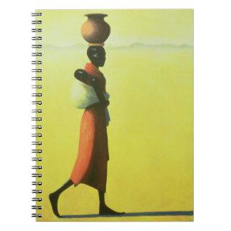 Gehende Frau 1990 Notizbuch
