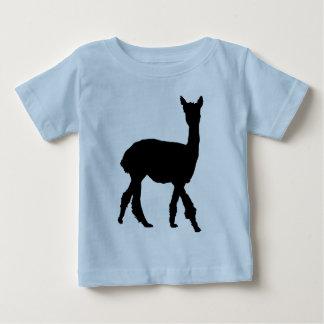 Gehendes Alpaka Baby T-shirt