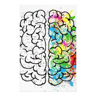 Gehirn-Reihe Individuelle Büropapiere