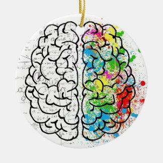 Gehirn-Reihe Keramik Ornament