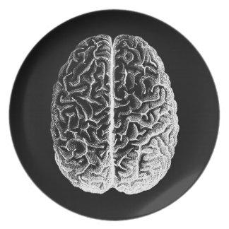 Gehirne! Flacher Teller