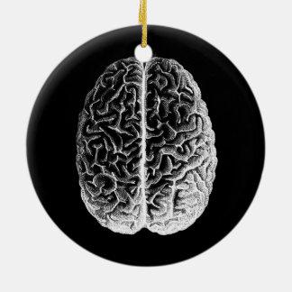 Gehirne! Rundes Keramik Ornament