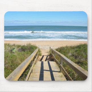 Gehweg zum Strand Mousepads