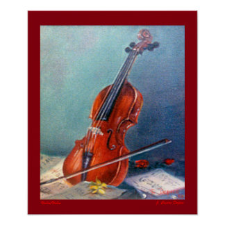Geige/Geige Poster