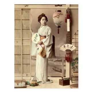 Geisha Postkarten
