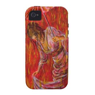Geisha - Rot Vibe iPhone 4 Hüllen