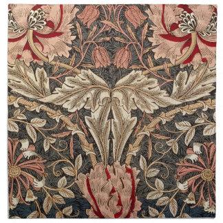 Geißblatt-Vintages Muster Williams Morris Stoffserviette