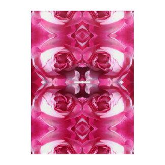 Geist der Pflanzen-Roter Rose 1A Acryl Wandkunst