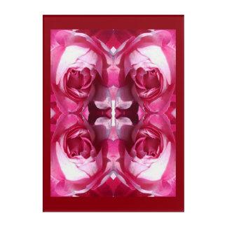 Geist der Pflanzen-Roter Rose 1C Acryl Wandkunst