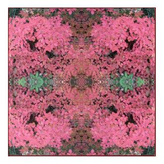 Geist des Fraktals der Pflanzen-779, das ein Rot Acryl Wandkunst